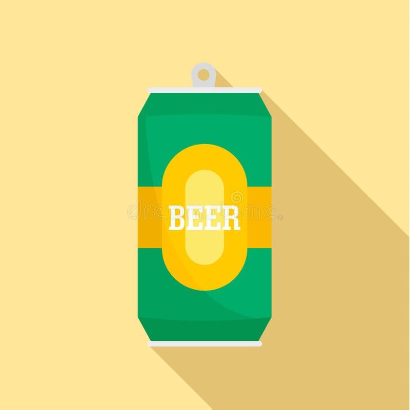 能新啤酒象,平的样式 向量例证