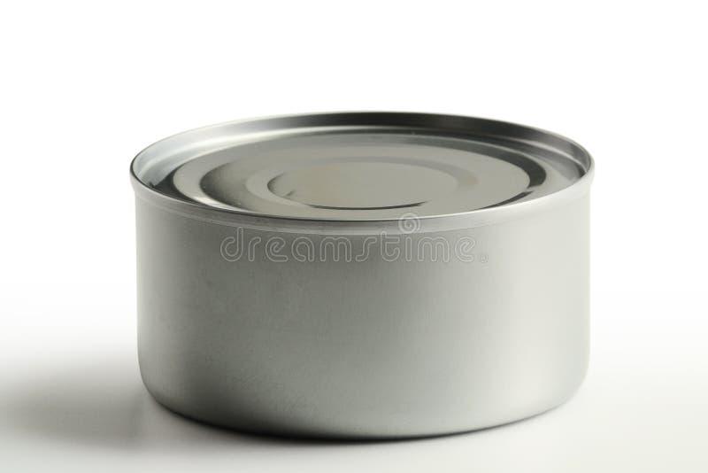 能查出的罐子白色 免版税库存图片