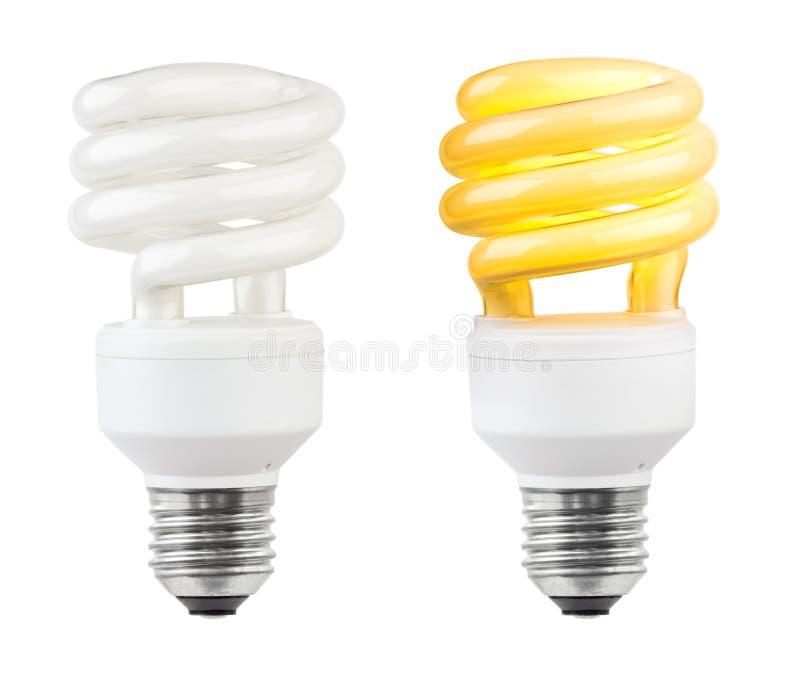 能源低闪亮指示的照明设备 图库摄影