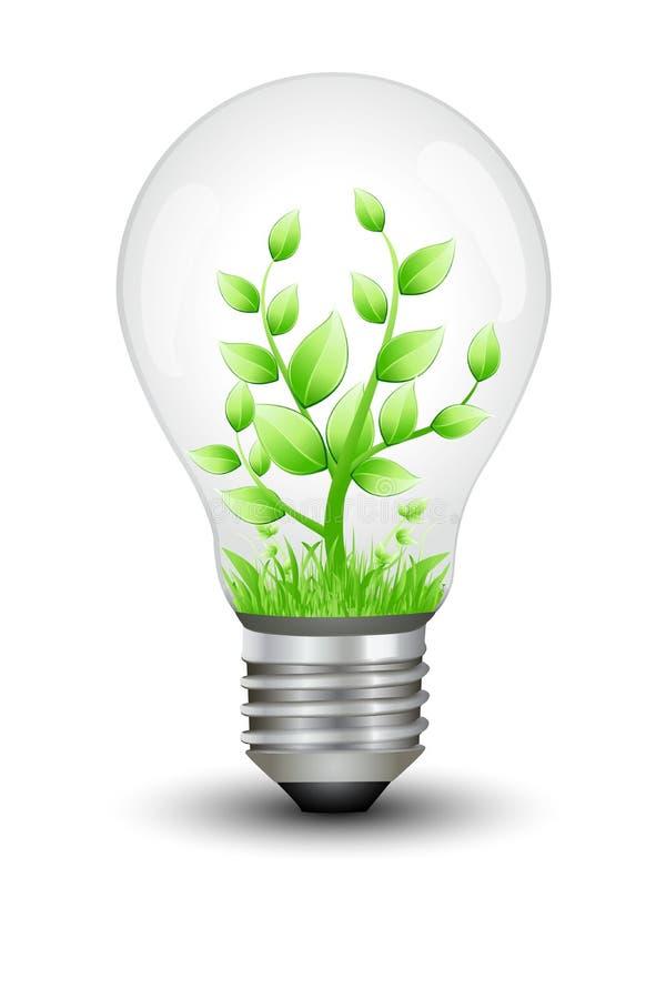 能源保存 向量例证