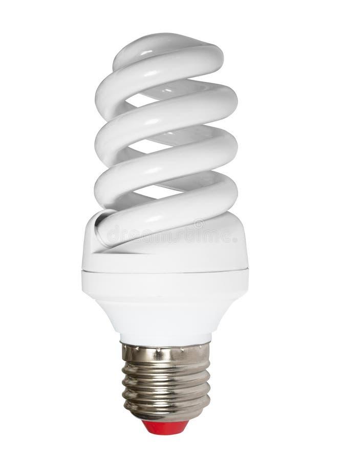 能源查出的闪亮指示节省额 免版税库存图片