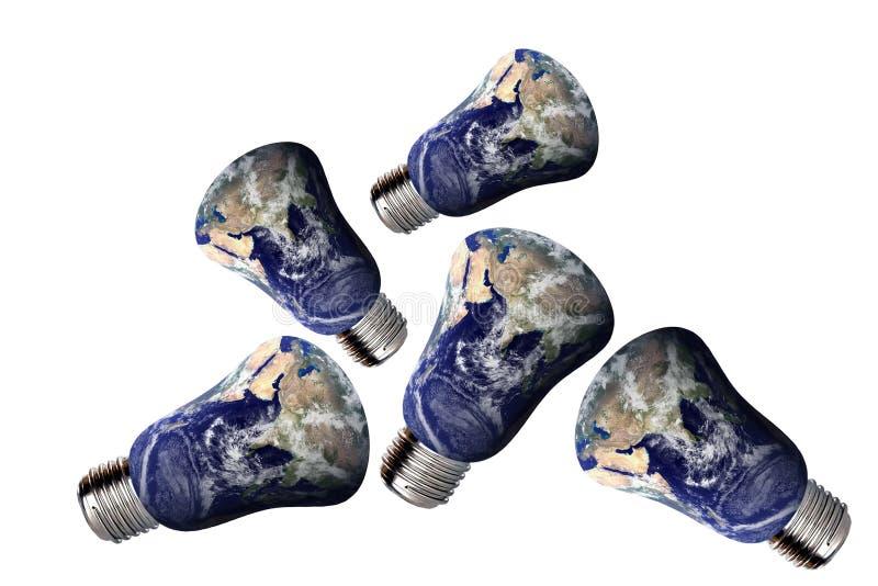 能源环境回收 向量例证