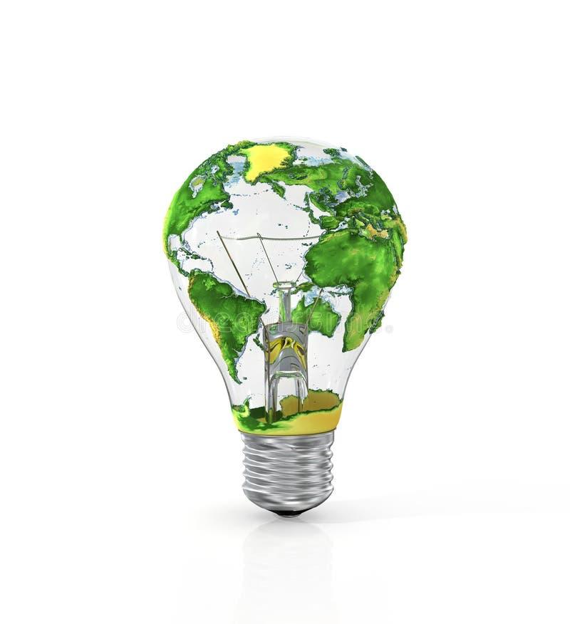 能源的概念 向量例证
