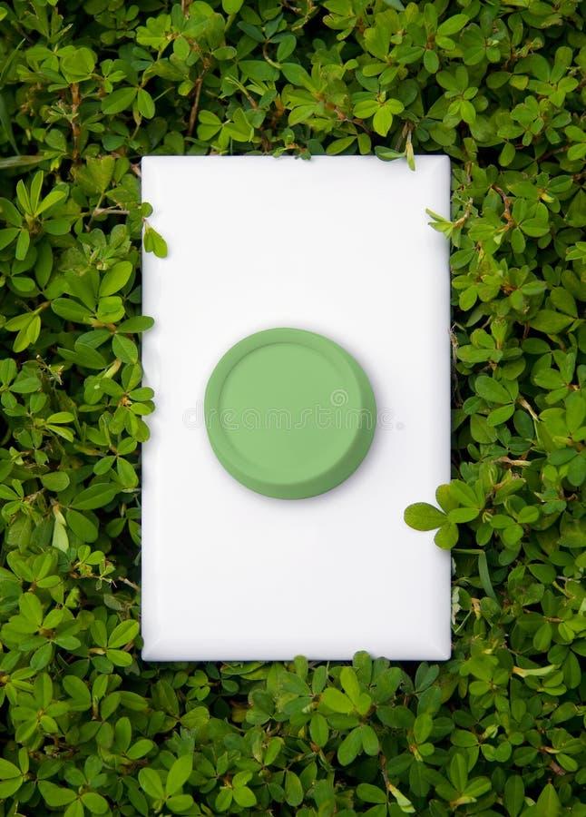 能源绿色切换 免版税库存照片