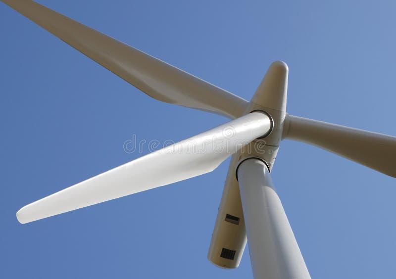 能源绿色涡轮风 库存照片