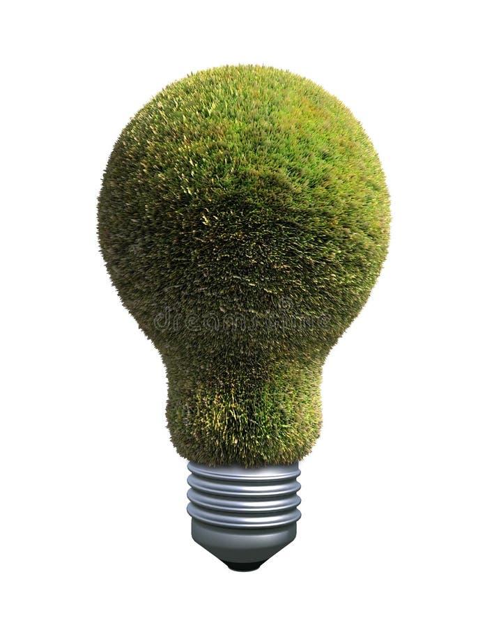 能源绿色符号 库存例证