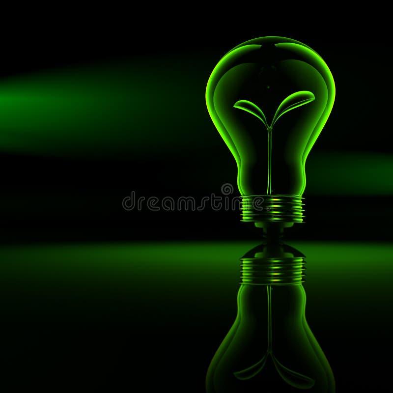 能源绿色 库存例证