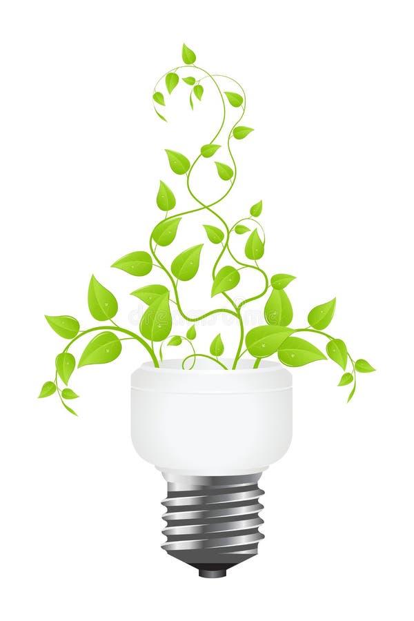 能源节约 库存例证