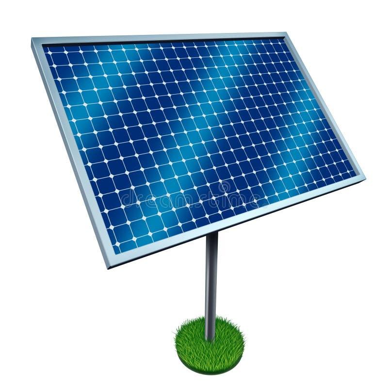 能源镶板可延续太阳 向量例证