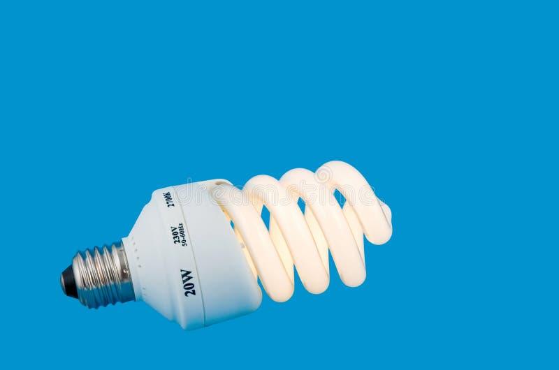 能源闪亮指示明亮节省额 免版税库存照片