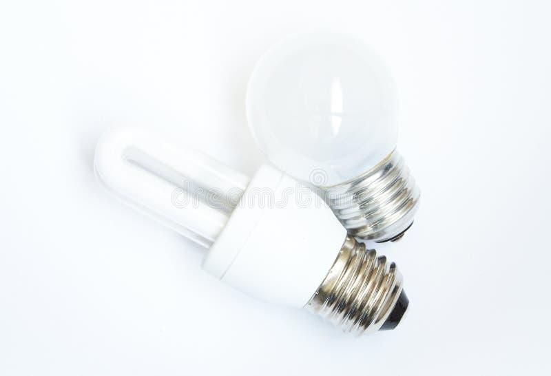 能源闪亮指示节省额 免版税图库摄影