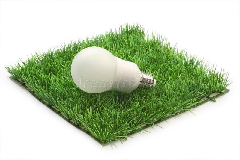 能源闪亮指示节省额 免版税库存照片