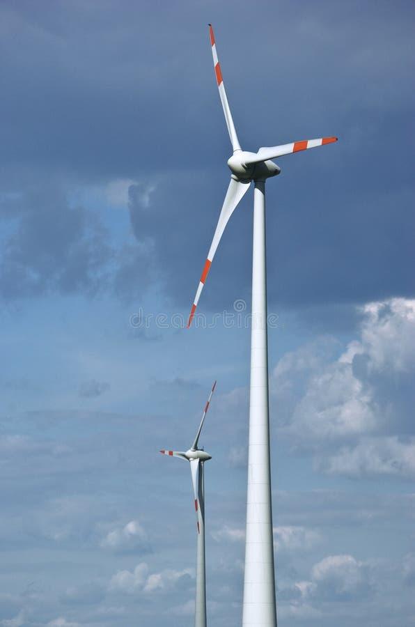 能源风 免版税库存图片