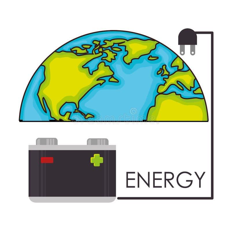 能源 皇族释放例证