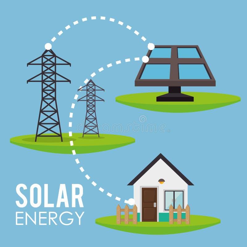 能源 向量例证