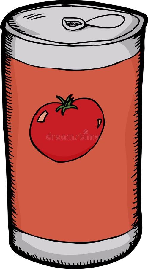 能番茄汁 向量例证