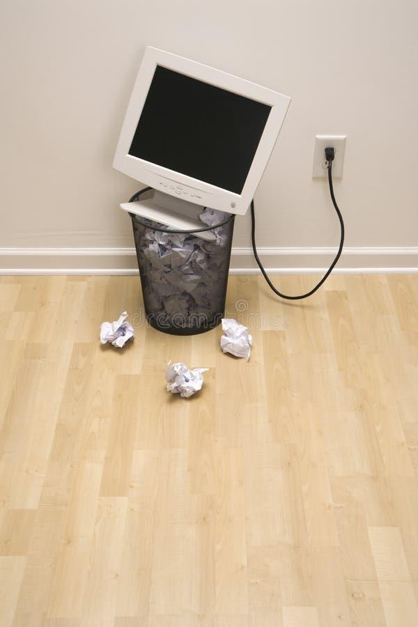 能计算机垃圾 库存照片