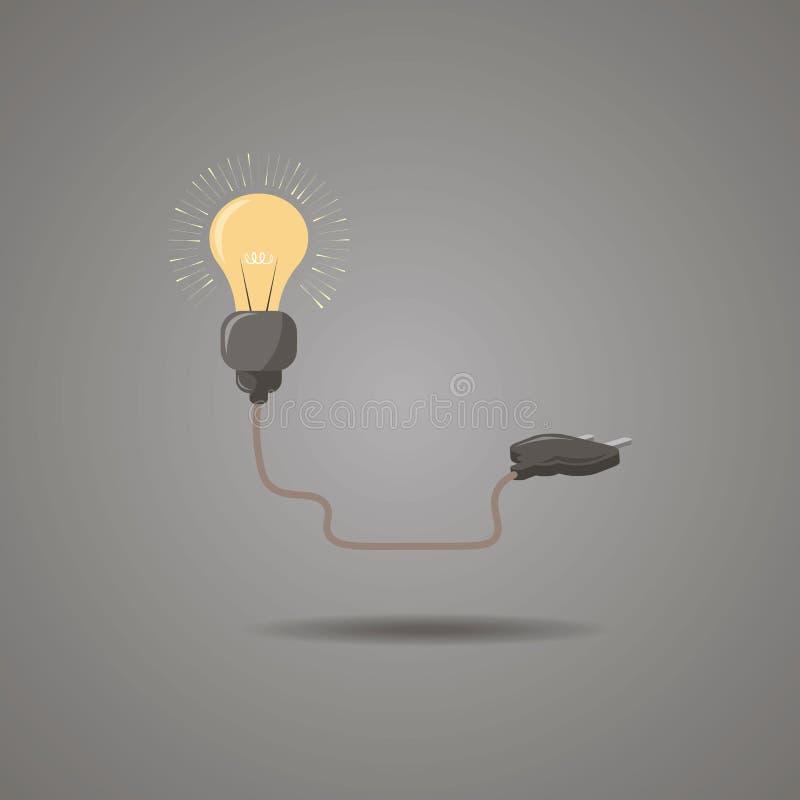 E r r 能量例证-电概念 库存例证