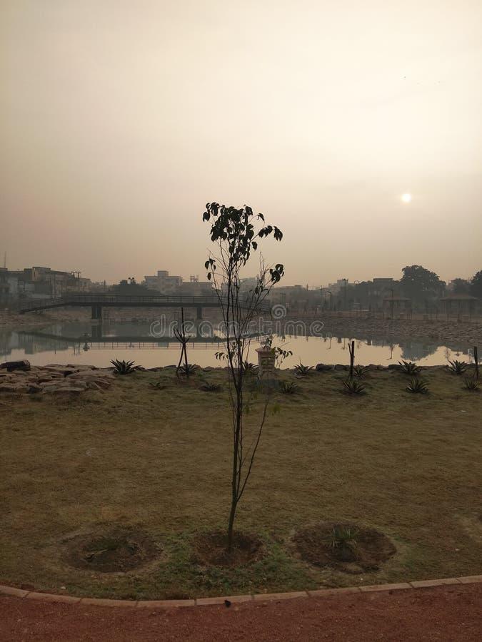 能量公园,巴特那,印度 库存图片