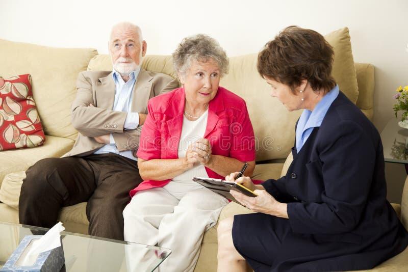 能counselng帮助婚姻我们您 库存照片
