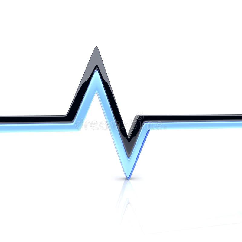 脉冲 向量例证