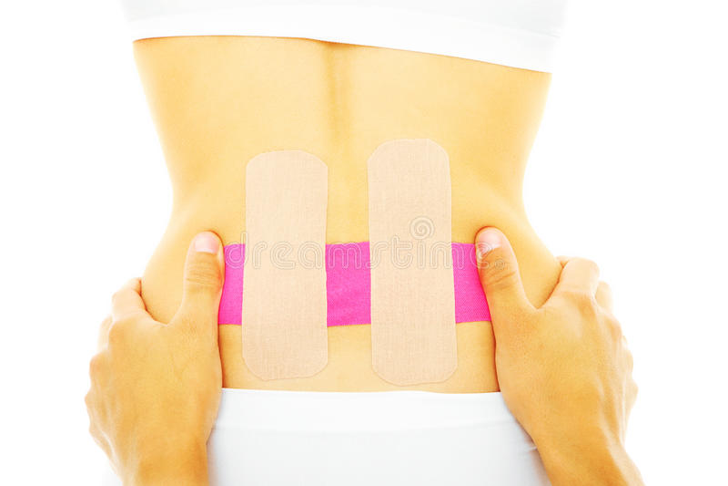 脊椎疗法 库存图片