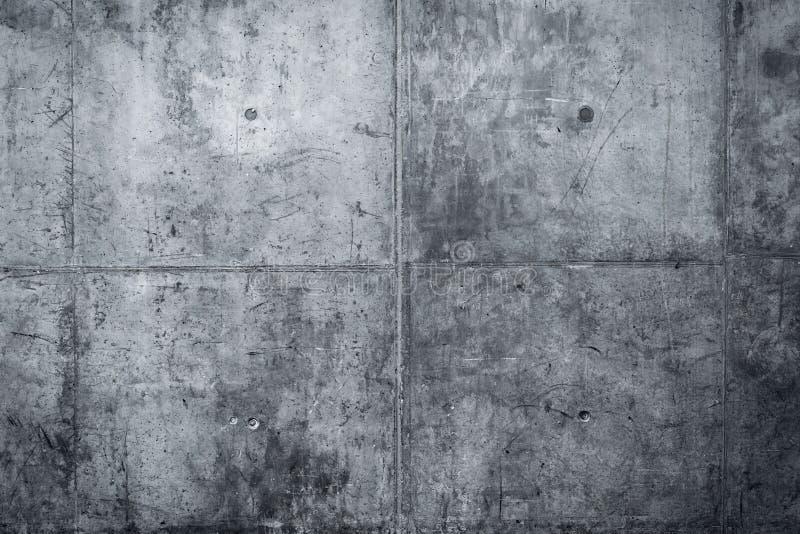 脏和光滑的光秃的混凝土墙 图库摄影