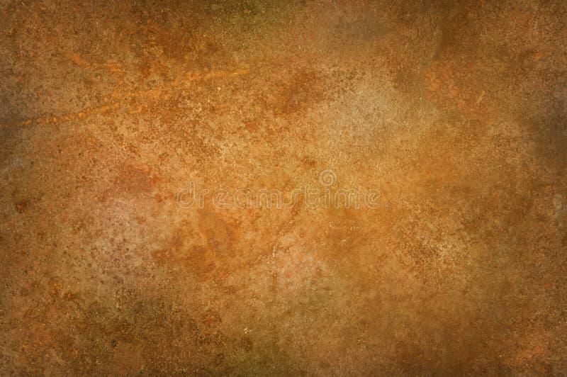 脏的困厄的生锈的表面 免版税库存照片