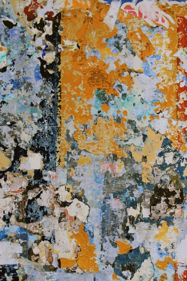 脏的墙壁 免版税图库摄影