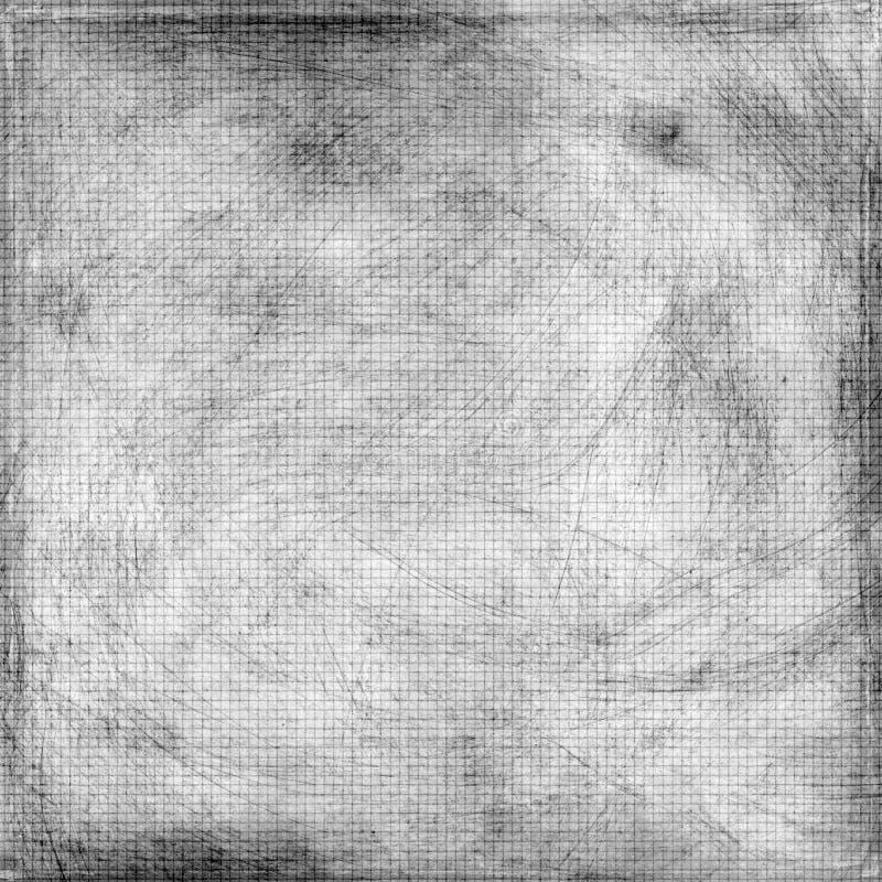 脏的帐簿纸被抓的纹理 图库摄影