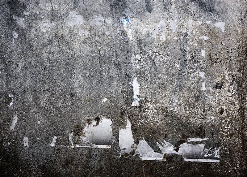 脏的混凝土墙 图库摄影