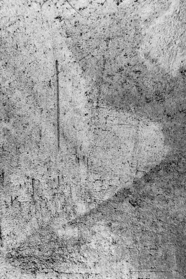 脏的织地不很细灰色老墙壁 库存图片