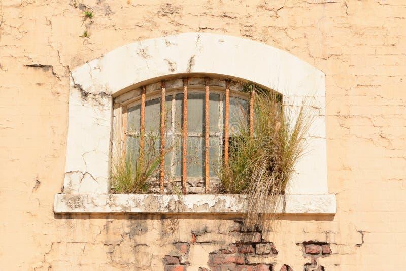 脏的老墙壁 免版税库存照片