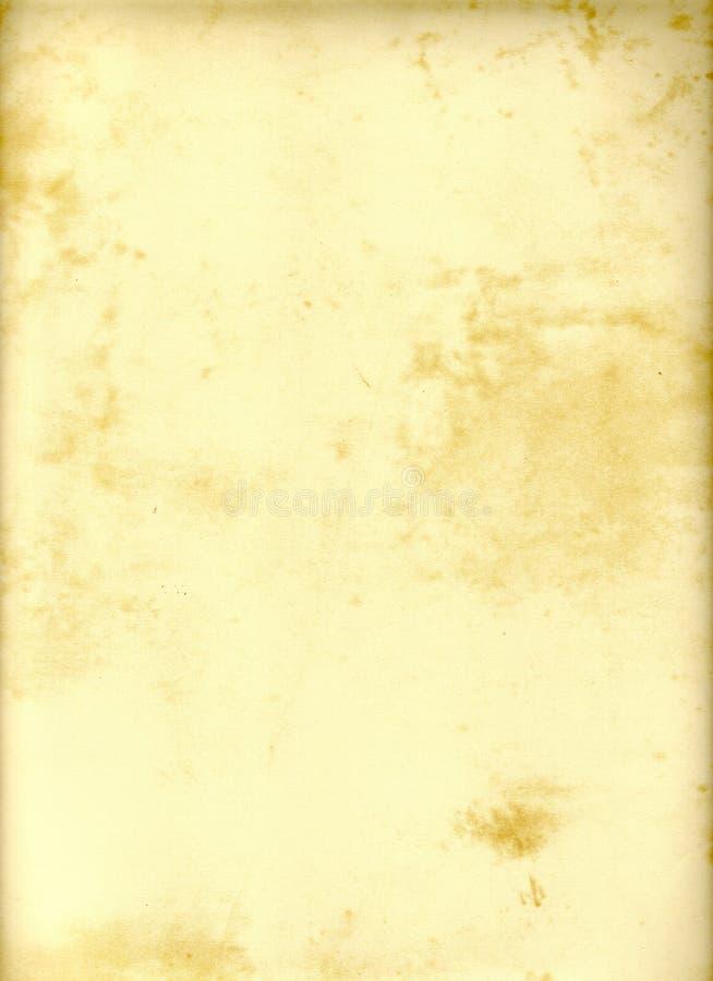 脏的自然纸张 免版税库存图片