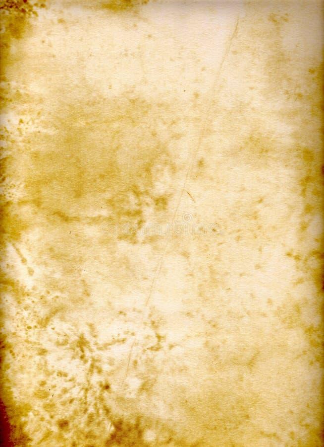 脏的自然纸张 免版税图库摄影