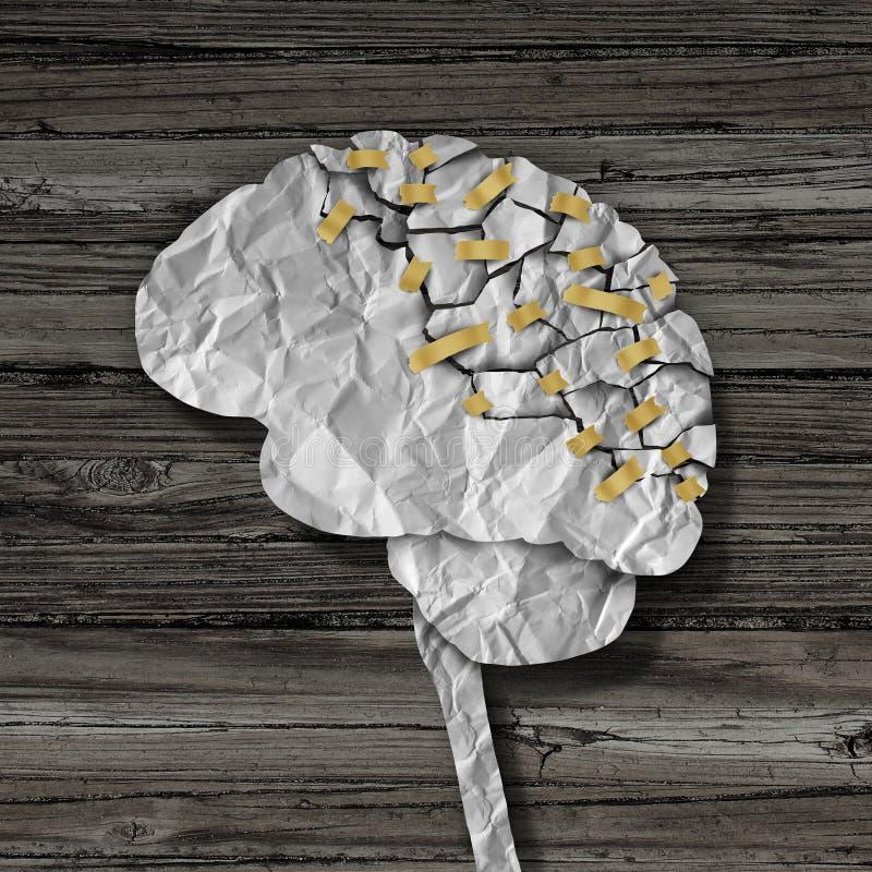 脑子修复 库存例证