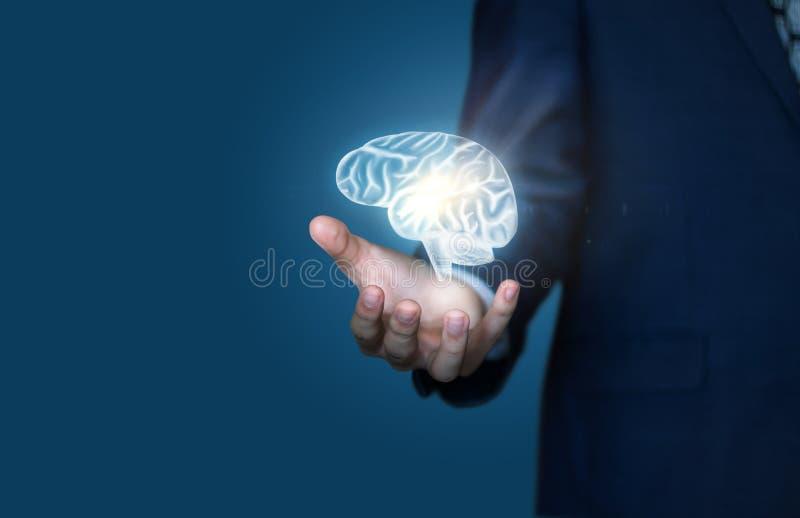 头脑的大可能性在事务的 库存照片