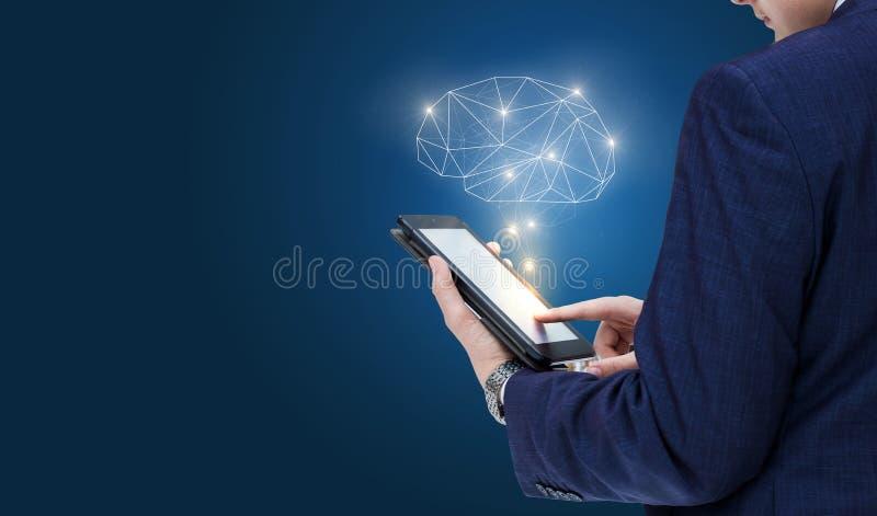 头脑的大可能性在工作的 免版税库存照片