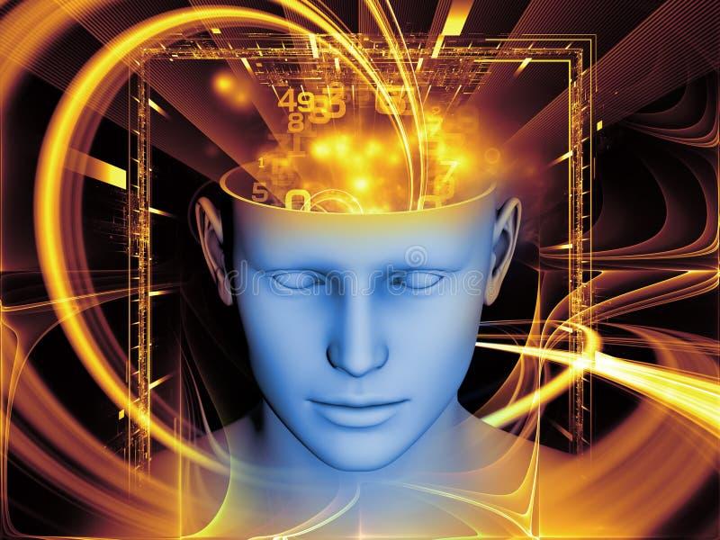 头脑的魔术 皇族释放例证