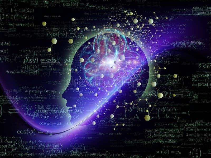 头脑能量 库存例证