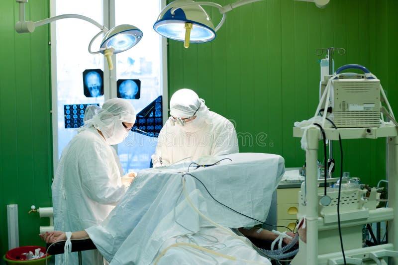 脑部手术 免版税图库摄影