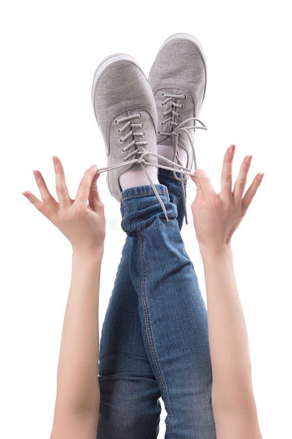 脚。 免版税库存照片