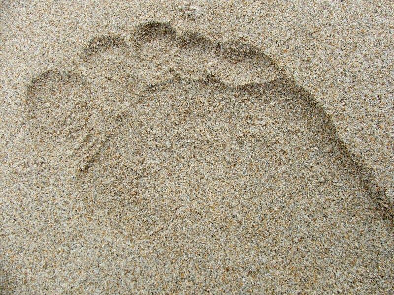 Download 脚印沙子 库存图片. 图片 包括有 内存, 海运, 印象, 脚印, 打印, 铭刻, 沙子, 游牧人, 火箭筒 - 188473