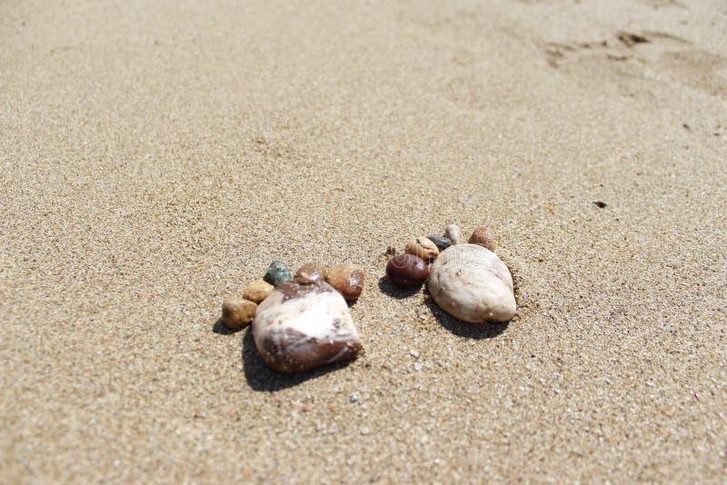 脚小卵石 库存图片