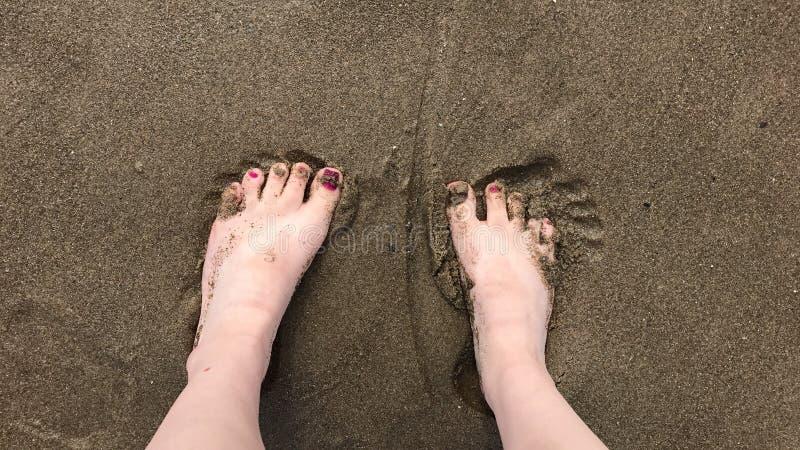 脚趾 图库摄影