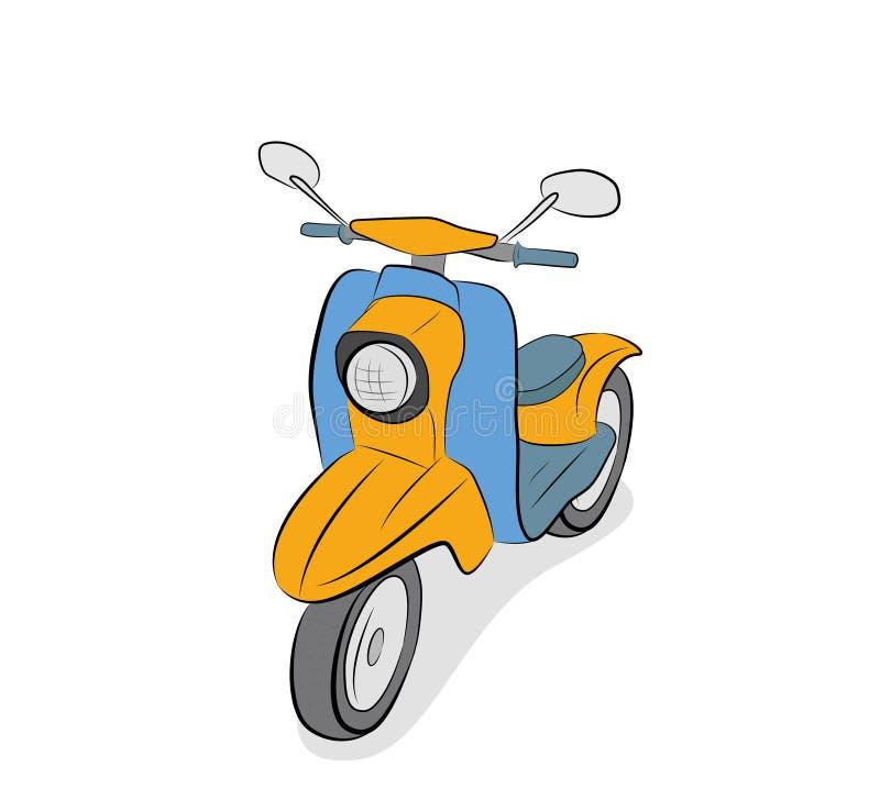 脚踏车摩托车 r 免版税库存图片