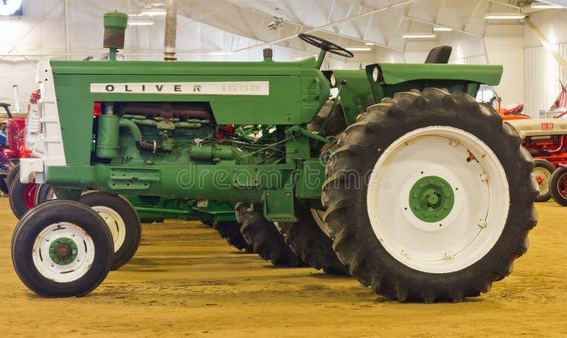 脚踏铁槌1600农用拖拉机 免版税图库摄影