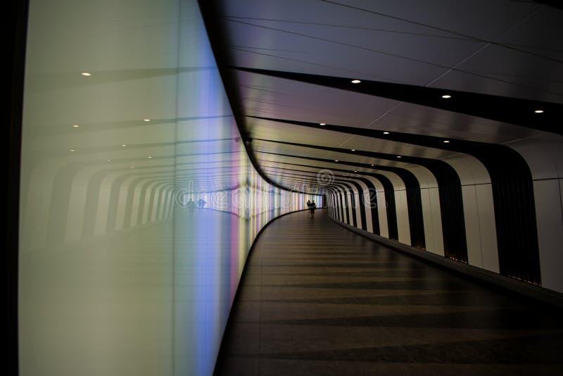 脚隧道走道 库存照片
