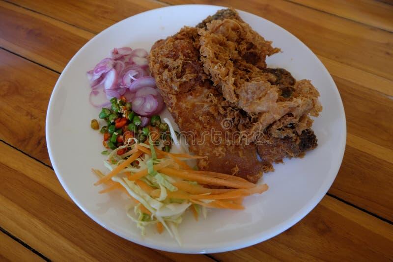 腌制鱼,泰国食物 库存照片