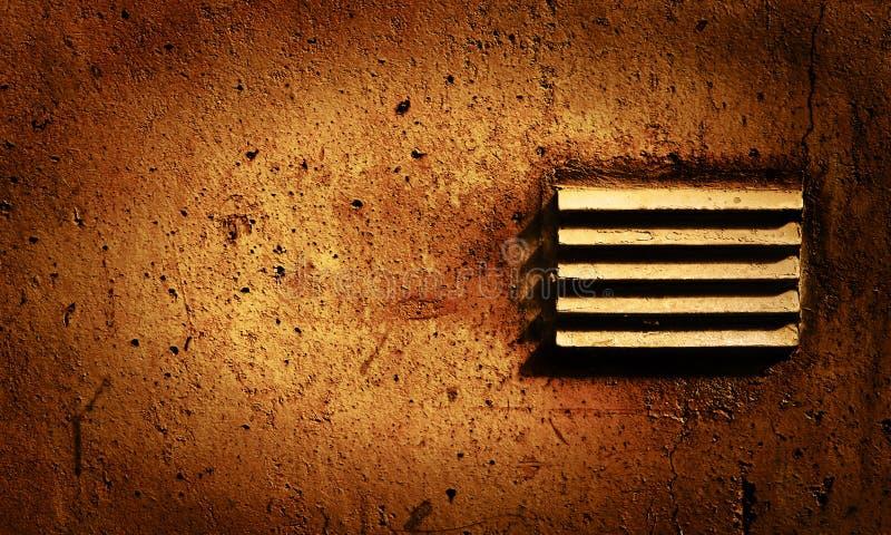 腐朽的墙壁 免版税库存照片